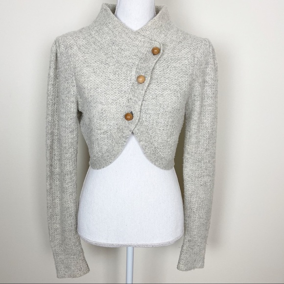 Anthropologie Sweaters - {Anthro} Charlie & Robin cropped cardigan sweater